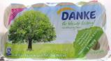 Afbeelding van Danke Tissue toiletpapier 3 laags 6 x 8rol