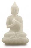 Afbeelding van Ruben Robijn Sneeuwkwarts Beeldje Tai Boeddha Zittend 8 Cm, 1 stuks