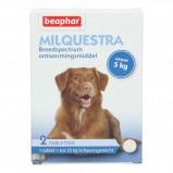 Abbildung von Beaphar Milquestra Wurmtabletten Hund 5 50kg 2St.