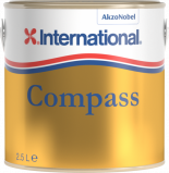Afbeelding van International compass vernis 2,5 l, blik