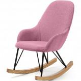 Afbeelding van LaForma Ivette kinderschommelstoel roze