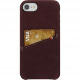 Afbeelding van Decoded Leather iPhone 8/7/6s/6 Back Cover Rood telefoonhoesje
