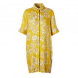 Afbeelding van alchemist jurk met bloemen geel