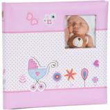 Afbeelding van Henzo Babyalbum S Baby Moments Roze (40 pagina's)