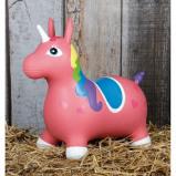 Image of Harry's Horse Nooni Skippy Unicorn (Colour: pink)