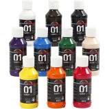 Image of A Color Acrylic Paint Glossy 10 x 100 ml (32001)