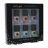 Zdjęcie 2K Let's Get Colourful! Pastels zestaw Lakier do paznokci 6 x 5 ml dla kobiet Bez brokatu