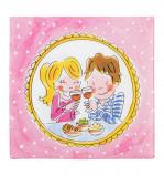 Afbeelding van Blond Amsterdam pak 20 servetten proost Even bijkletsen