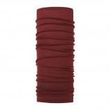 Afbeelding van Buff Lightweight Merino Wool Tubular Col Solid Wine Heren,Dames,Uniseks