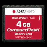 Afbeelding van AgfaPhoto Compact Flash 4GB High Speed 120x MLC