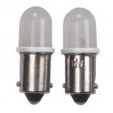 Afbeelding van AutoStyle autolamp T4W 12 Volt 0,5 Watt 2 stuks wit