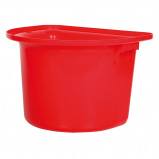 Bild av Harrys Horse Portable Hook Over Manger Bucket Red