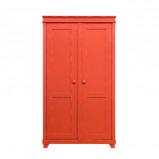 Afbeelding van Bopita 2 deurskast xl country vintage red