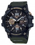 Afbeelding van Casio G Shock Master of GWG 100 1A3ER Mudmaster horloge herenhorloge Groen,Zwart