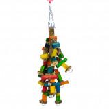 Obrázek Birdeeez Sicklebush & Chain Jumbo Macaw 50cm