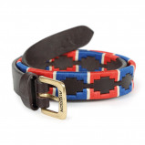 Obrázek Aubrion by Shires Belt Polo Navy/Red 110cm