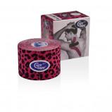 Afbeelding van Cure Tape Art 5 x leopard pink/black 1 stuk
