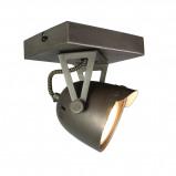 Afbeelding van LABEL51 LED Spot Cap 1 light 14 x 10 cm Burned Steel Zilver