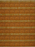 Zdjęcie Vlisco VL00001.253.04 Orange African print fabric Wax Hollandais Decorative