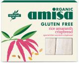 Afbeelding van Amisa Rice Amaranth Crispbread 120GR
