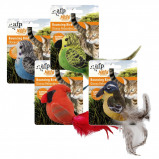 Afbeelding van All For Paws Naturel Bouncing Birds Assorted