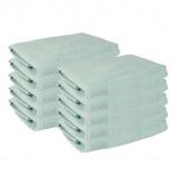 Afbeelding van 10 PACK Presence Handdoeken 50 x 100 cm Mint Ga naar Dekbed Discounter.nl