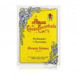 Image de Alvarez Gomez Agua de Colonia Concentrada Mouchoirs 10 pièces