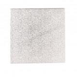 Afbeelding van Cakedrum Zilver Vierkant 22,5cm