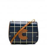 Afbeelding van Coccinelle Craquante Tiles Print Multi Evergreen Crossbody EN8120101322TU