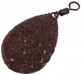 Image of 10 x Ultimate Camo Lead Flat Pear Swivel in 30 up to 120 g (available in 4 colours)