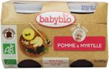 Afbeelding van Babybio Dessert Appel Bosbes 4 Maanden 130 gram, 2x130 gram