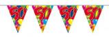 Afbeelding van Amigo Vlaggenlijn ballonnen: 50 jaar 10 meter