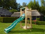 Image de Air de Jeux en Bois pour le Petit Jardin Jungle Tower Jungle Gym