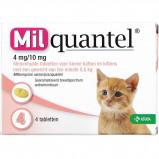 Abbildung von Wurmtabletten 4mg/10mg Kätzchen 2 Tabletten 0,5 2kg