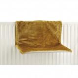 Afbeelding van Beeztees Hangmat Sleepy Voor Aan Een Radiator Okergeel