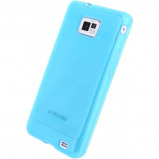 Afbeelding van Mobilize Gelly Case Samsung Galaxy S5 Mini Transparent Turquoise Mob