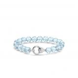 Image of TI SENTO Milano Bracelet Blue Silver Plated 2866WB
