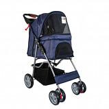 Abbildung von Agradi Pet Stroller with 4 Wheels Blau 68x46x100cm