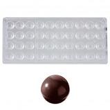 Afbeelding van Bonbonvorm Chocolate World Bol (40x) Ø20 mm