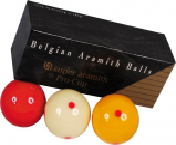 Immagine di Aramith Deluxe palle da carambola da 61,5 mm