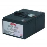 Afbeelding van APC Batterij Vervangings Cartridge RBC6 Zwart