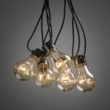 Afbeelding van Konstsmide LED Decoratie lichtsnoer 4.5m transparant (Aantal lampen: 10 lampen, Kleur verlichting: extra warm wit)