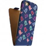 Afbeelding van Mobilize Ultra Slim Flip Case Apple iPhone 5/5S/SE Birdy