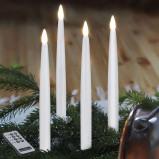 Afbeelding van Best Season led kerstboomkaarsen lang, 4 delige binnenkant, energie efficiëntie: A++, H: 29 cm