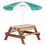 Afbeelding van AXI Nick zand en water picknicktafel (Kleur: bruin)