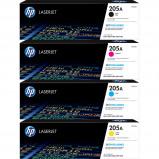 Afbeelding van HP 205A toner Combo pack 4 Kleuren