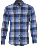 Afbeelding van Casa Moda Overhemd Regular Fit Blau L