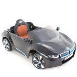 Afbeelding van BMW kinderauto i8 zwart