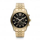 Afbeelding van Michael Kors MK8286 Lexington Chrono horloge dameshorloge Goudkleur