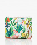 Image de &Klevering Toiletry Bag Bodil Large in Leopard Jungle Print